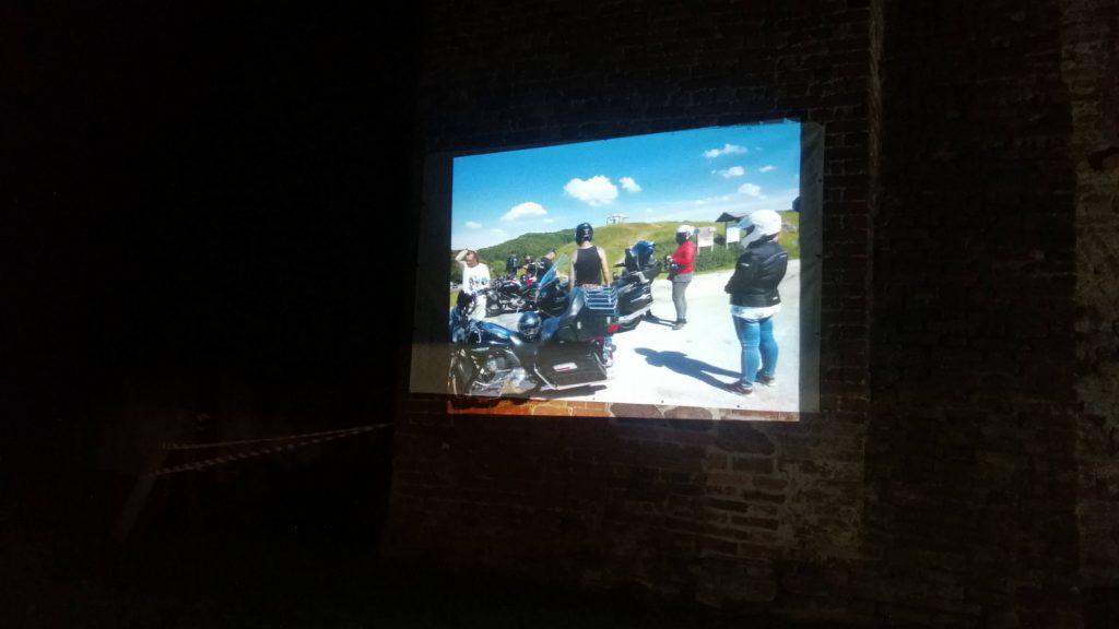 Pokaz slajdów na zamku w Siedlisku